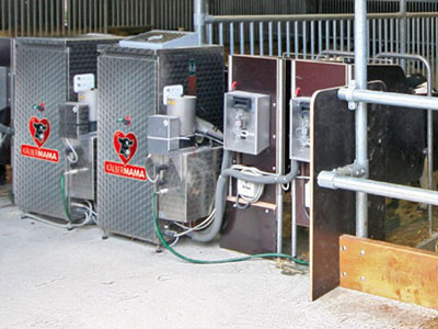 Urban ALMA kalvedrikke automat - Foringsautomater