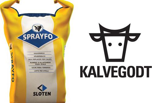 Sprayfo gul kalv